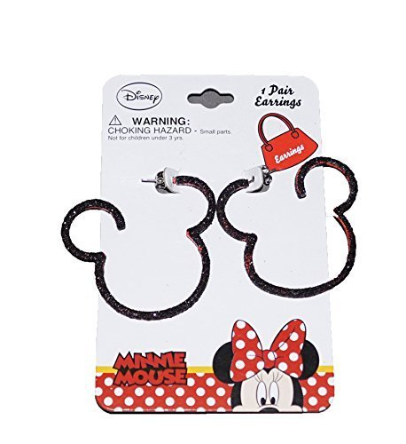 Ant Man Costume Disney (Disney Mickey and Minnie Mouse Baby Girl Dress Up Silhouette Earrings)