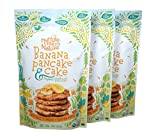 Paleo Nut Free Banana Pancake & Cake Baking Mix / USDA Organic (Pack of 3)