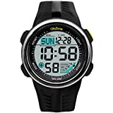 Men's Sports Digital Watch with Military...