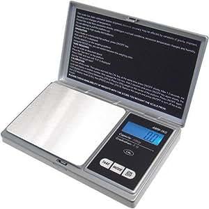 AWS AWS-1KG-SIL Digital Pocket Scale, 1000 by 0.1 G, Silver