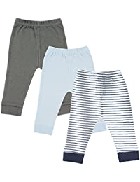 Baby 3 Pack Tapered Ankle Pants, Blue,Gray,Navy, 4T