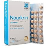 Nourkrin Woman for Hair Growth 60 Tablets = 1 months supply
