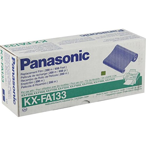 Panasonic - KXFA133 Film Roll Refill - Sold As 1 Each - Protect your equipment investment with replacement parts and refills from the original manufacturer. (F1020 Fax)