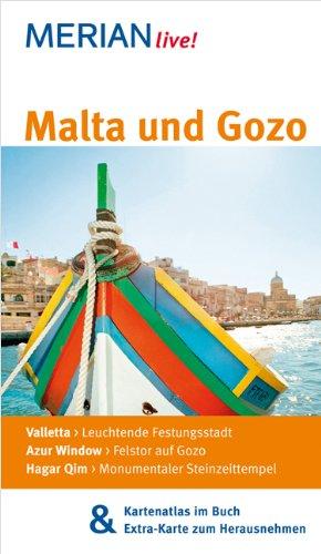 MERIAN live! Reiseführer Malta und Gozo: Mit Kartenatlas im Buch und Extra-Karte zum Herausnehmen
