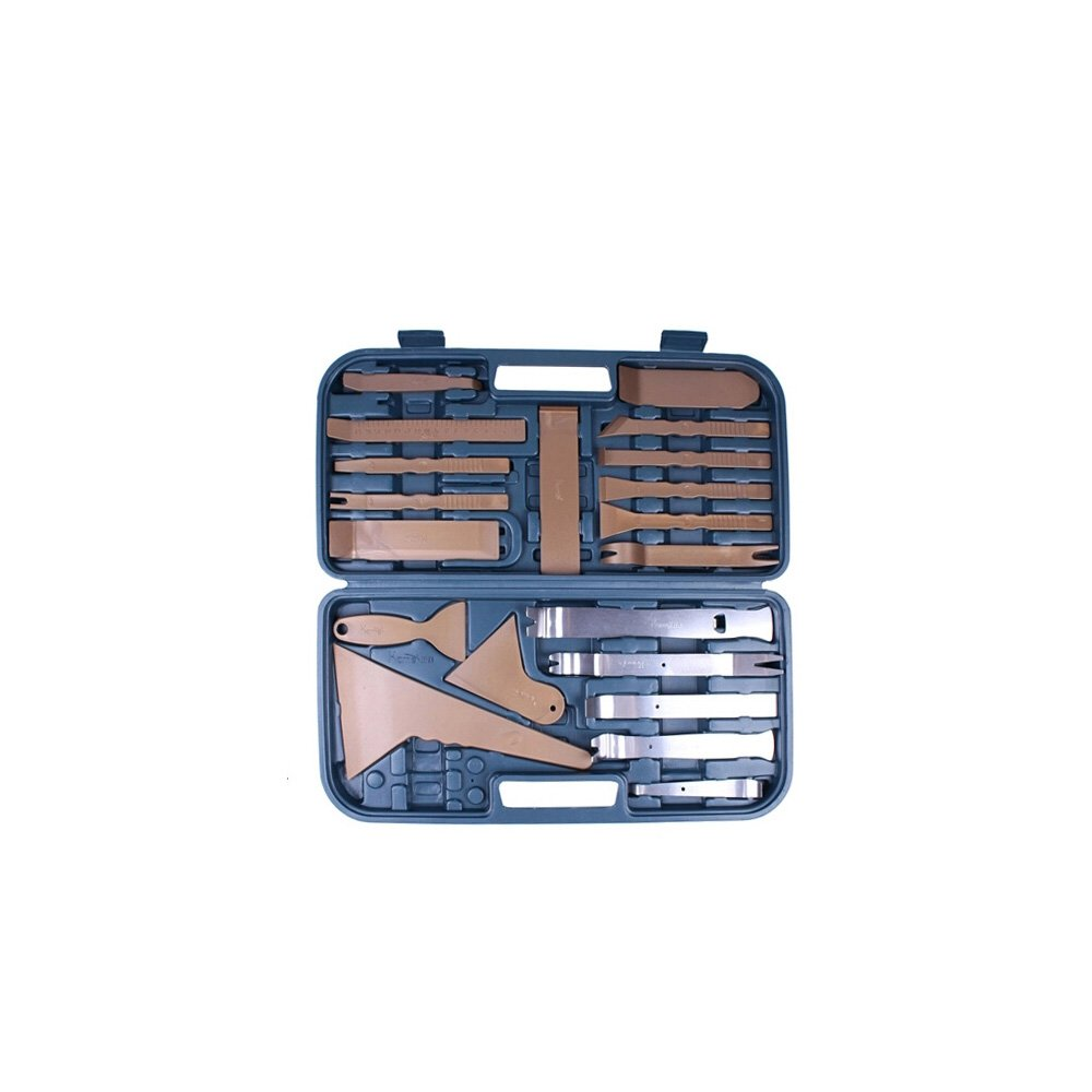 Eaglerich Professional 36PCS Car Trim Panel Removal Interior Plastic Dashboard Installation Remove Pry Stereo Refit Tool Kit Set With Case