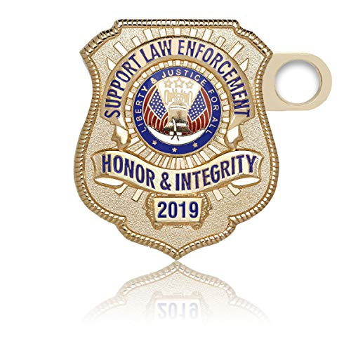 K9 License Plate - CharityMagnets 2019 Limited Edition Gold-Plated License Plate Honor Badge