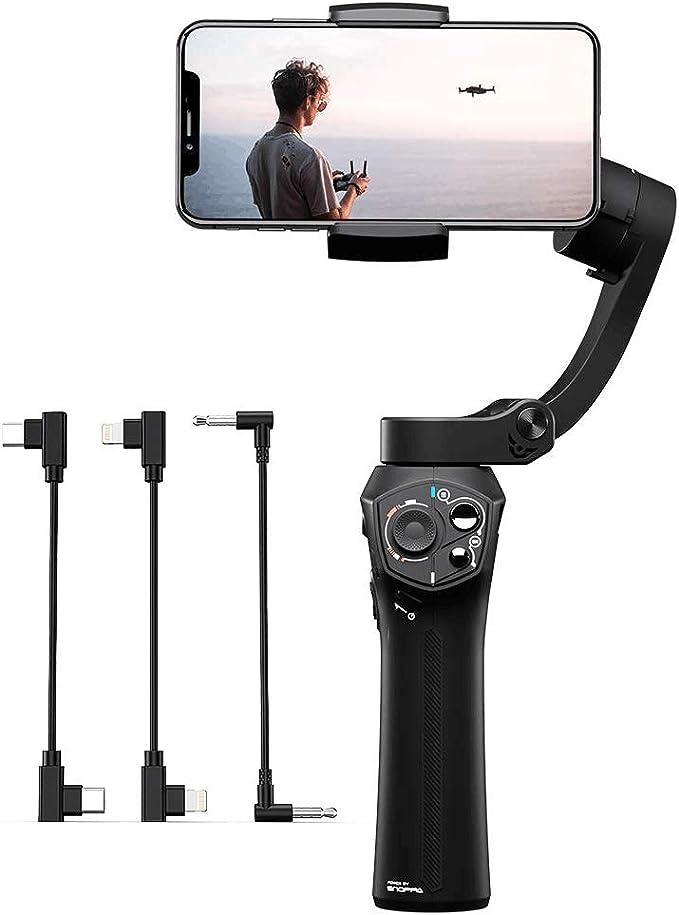snoppa Atom estabilizador Gimbal 3 Ejes para Smartphone GoPro Hero ...