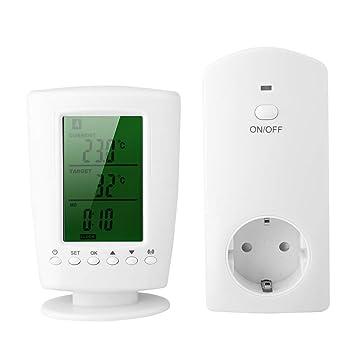 Zerone Toma para Interruptor del Temporizador del termostato ...