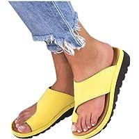 CCOOfhhc Sandalias de Plataforma cómodas para Mujer, Zapatos de Verano para Playa, Viajes, Sandalias de cuña, Zapatos Casuales con Punta Abierta