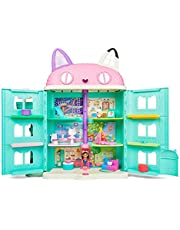 Gabby's Dollhouse, Purrfect Dollhouse with 15 Pieces Including Toy Figures, Furniture, Accessories and Sounds, Kids Toys for Ages 3 and up (Multicolor)