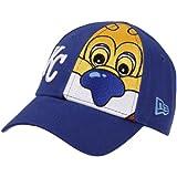 MLB New Era Kansas City Royals Toddler Sluggerrr Big Mascot Hat - Royal Blue