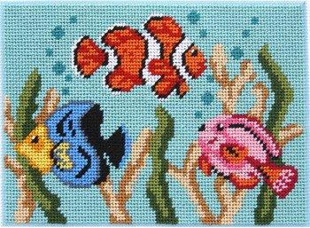 Tropical Fish - Needlepoint Kit