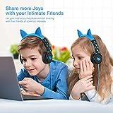 [Upgrade] iClever Kids Headphones Boys - Cat Ear