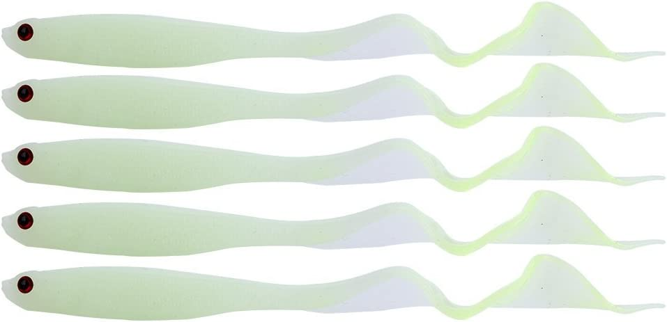 Alomejor 5PCS 13/cm morbido esca artificiale Paddle Tail attrezzatura da pesca esche jig head Hook Worms pesca Swimbait
