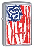 zippo gun - Zippo Lighter: American Flag of Guns - Street Chrome 79575