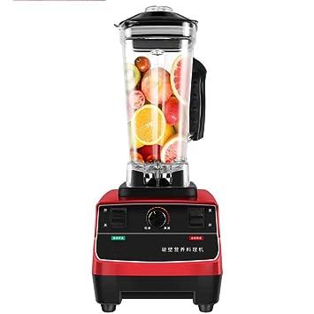 XWH Máquina de cocción de Leche de Soja, máquina de Jugo de Paredes rotas multifunción semiautomática Comercial de 5 litros,Rojo,Cm: Amazon.es: Deportes y ...