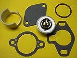 Thermostat Kit 807252Q5 gaskets Sleeve 23-806922 4.3 5.0 5.7 Mercruiser