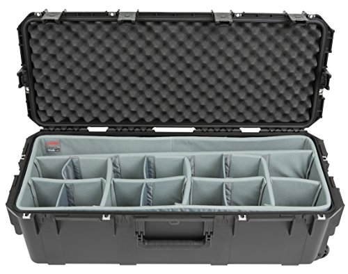 SKB Cases 3i-3613-12DT iSeries Professional Camera Case, Black/Gray by SKB Cases