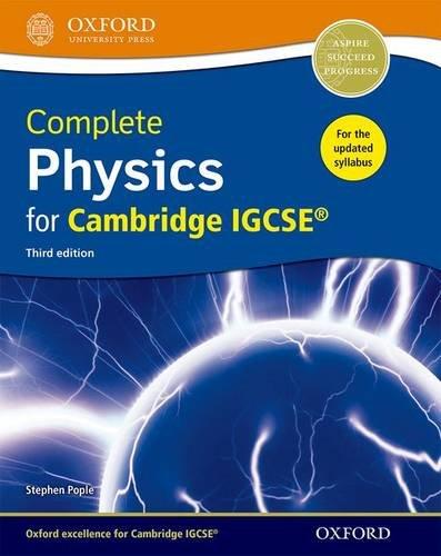 Complete Physics for Cambridge IGCSERG Student book (CIE IGCSE Complete Series)