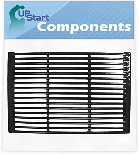 UpStart Components BBQ Grill Cooking Grates Replacement Parts for BroilMate 735089SCompatible Barbeque Porcelain Enameled Cast Iron Grid 19
