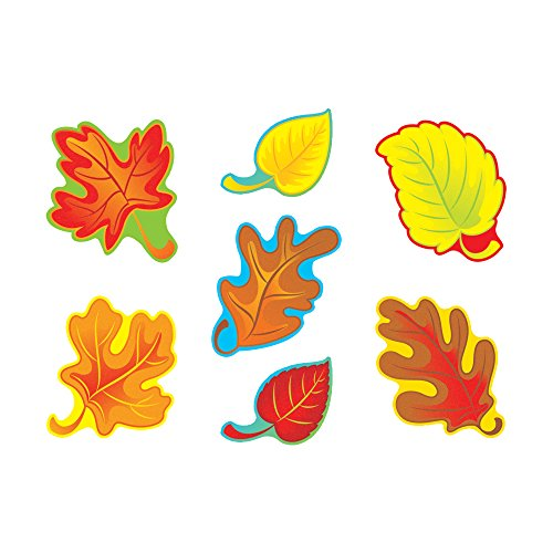 - TREND enterprises, Inc. Fall Leaves Classic Accents Variety Pack, 42 ct