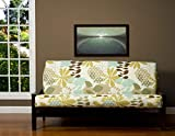 SIS Cover English Garden Futon Cover Fabric (Removable futon cover fabric only. Futon frame and futon mattress sold separately) - Full