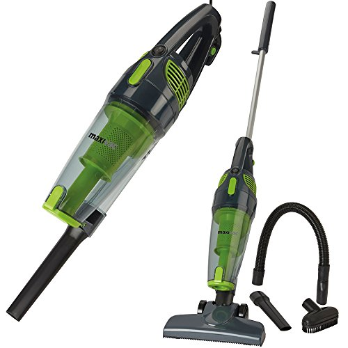 Maxi Vac Handheld Stick Vac Vacuum Cleaner Bagless Upright 2 in 1 800W with...