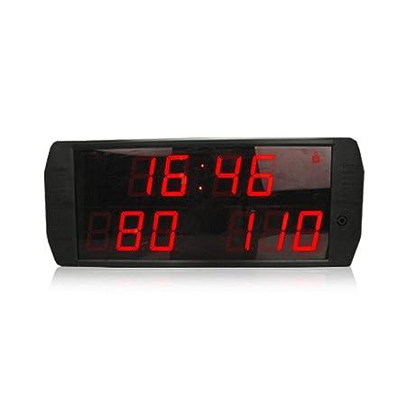 Cvbndfe-HOME Intervalo LED Temporizador Cuenta atrás Cronómetro ...