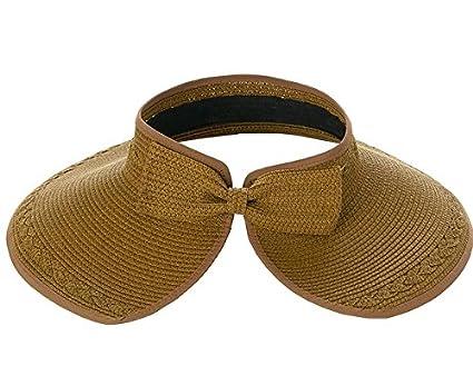 5f887c8e0ef Crownless Sun Hat  Amazon.co.uk  Clothing