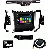 Otto Navi DVD GPS Navigation Multimedia Radio and Kit for Nissan Pathfinder 2013-2016 with Back up camera and extra