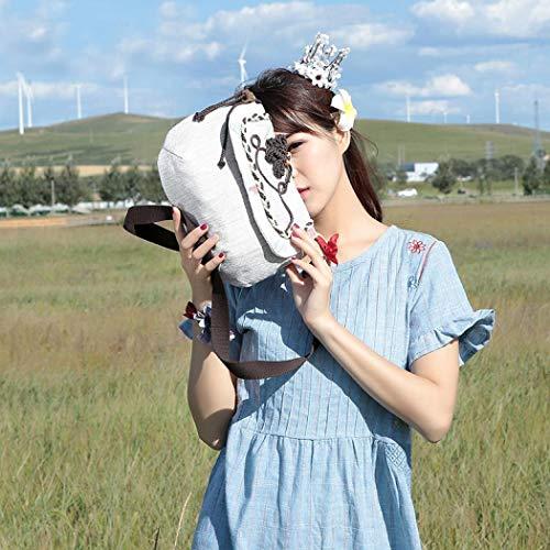 Taille Femme bandoulière Sac Unique pour Royalmal Gris 6wFqa