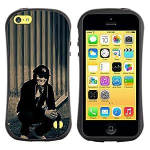 "Hypernova Slim Fit Dual Barniz Protector Caso Case Funda Para Apple iPhone 5C [Hollywood Undead j perro""]"