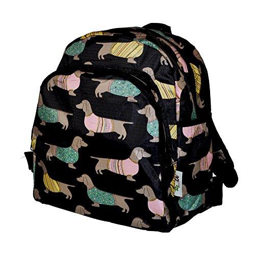 Re-Uz Essential Funky Childrens Kids School Nursery Travel Backpack Rucksack – Sausage Dogs