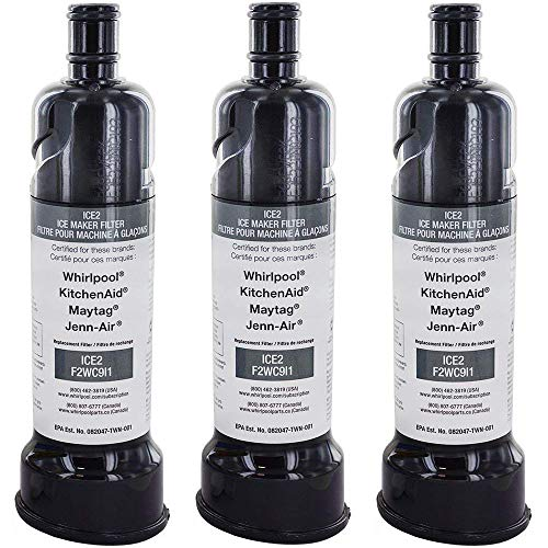 Whirlpool Ice Maker Water Filter - F2WC9I1 ICE2 (3 pack)