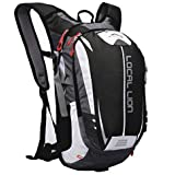 LOCALLION Cycling Backpack Riding Backpack Bike Rucksack Outdoor Sports Daypack for Running Hiking Camping Travelling Ultralight Men Women 18L
