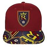 Outerstuff MLS Real Salt Lake R S8FDJ Youth Boys Flatbrim Snapback, One Size (8), Crimson Red