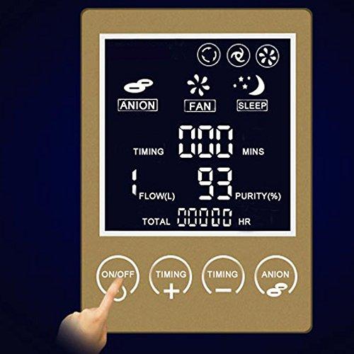 Zorvo Portable Oxygen Concentrator Generators Household Oxygen Machine Home Oxygen Concentrator Generator Air Purifier Home Air Purifier 1-6L/min Flow AC 110V by Zorvo (Image #4)