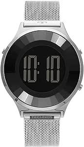 Relógio Technos Feminino Digital Prata - BJ3851AG/1P