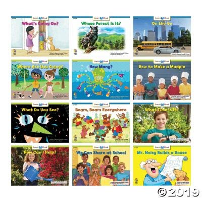 Fun Express Learn to Read Variety Pack 5 GRL C-D - Educational - 12 Pieces: Toys & Games [5Bkhe0301446]