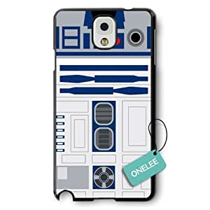 Onelee(TM) - R2D2 Star Wars Hard Plastic Case Cover for Samsung Galaxy Note 3 - Black 8
