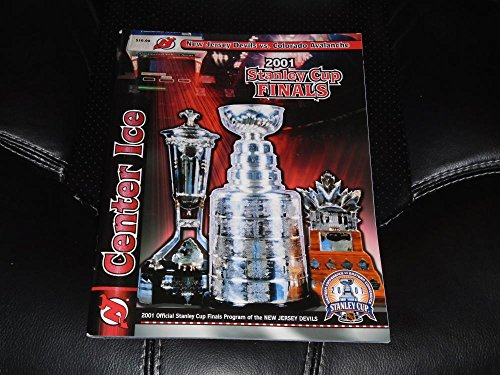 2001 COLORADO AVALANCHE AT NEW JERSEY DEVILS STANLEY CUP FINALS PROGRAM MINT - Colorado Avalanche Tickets