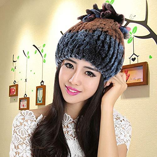 eb31332bb68be Pandaie-Womens Hats, Elegant Warmth Colorful Women Hats Handmade Warm Caps  Female Headgear by