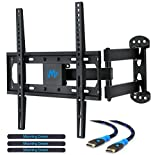 Kyпить Mounting Dream MD2377 TV Wall Mount Bracket for most of 26-55 Inch LED, LCD, OLED Flat Screen TV with Full Motion Swivel Articulating Arm up to VESA 400x400mm and 60 lbs with Tilting на Amazon.com