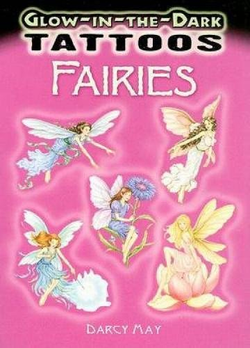 Glow-in-the-Dark Tattoos Fairies (Dover -