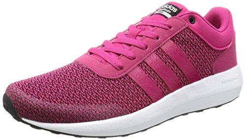 adidas Cloudfoam Race W, Zapatilla de Deporte Baja del Cuello para Mujer, Rosa (Rosfue/Rosfue/Ftwbla), 38 EU