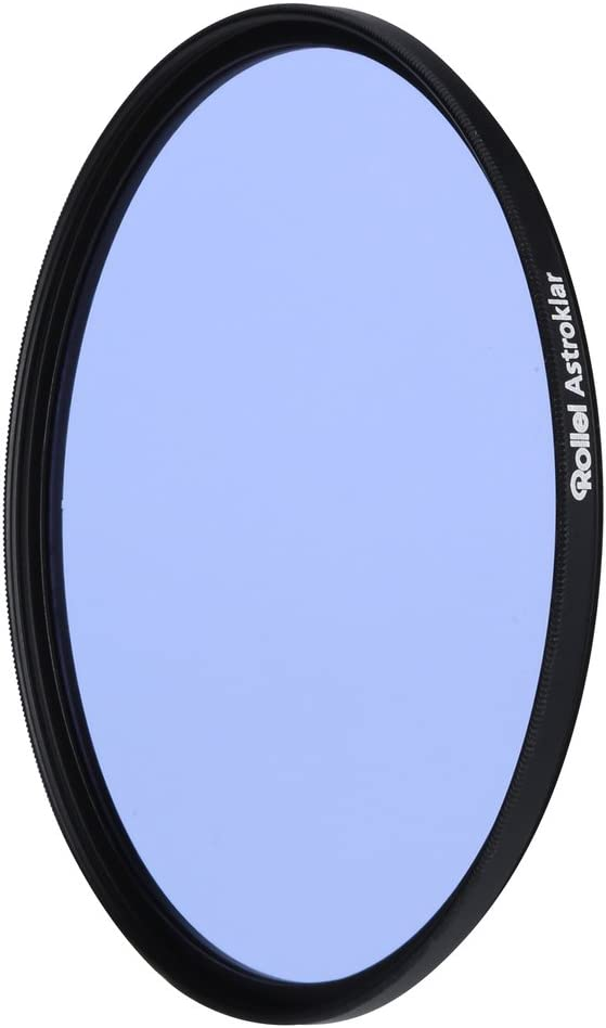 Rollei Astroklar Light Pollution Round Filter I 86mm Night Light Filter I Clear Night Filter for Astrophotography and Night Photography