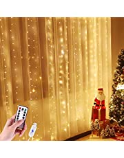 LED Curtain Fairy String Lights for Bedroom
