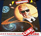 MINT! Max Headroom 1986 Coke Poster c-c-c-c-Catch the Wave