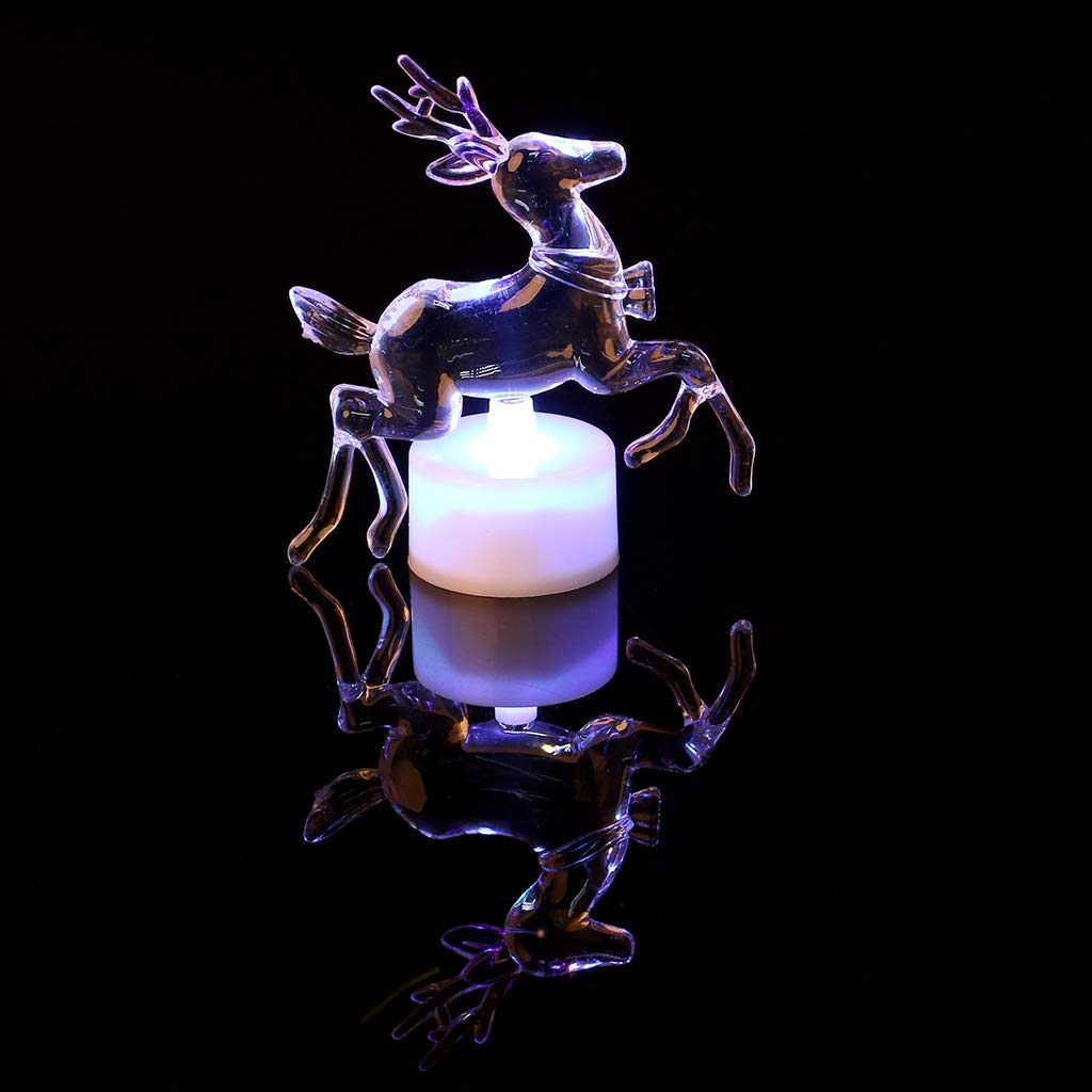 Hijing Christmas Tree LED Night Light,Changing Color for Decorative Wall Lamp Home Christmas Party Decor by Hijing (Image #9)