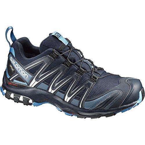 Salomon Men's XA PRO 3D GTX Trail Runner, Navy Blazer, 10 M